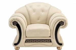 Кожаное кресло Versace, цвет 17#