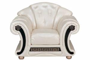 Кожаное кресло Versace, цвет 31#