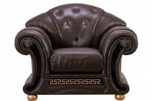 Кожаное кресло Versace, цвет 37#
