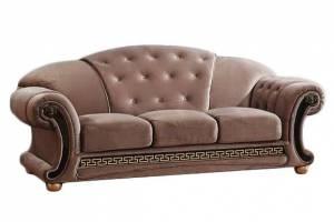 Диван Versace трёхместный Oxford luxe 4073-4