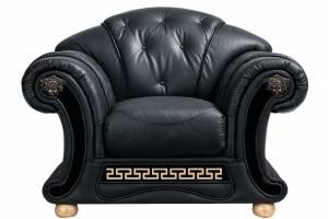 Кожаное кресло Versace, цвет 19#
