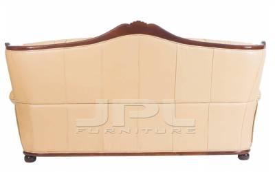 Кожаный диван Brio трехместный, цвет 86#