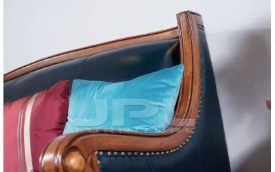 Кожаный диван двухместный 96-602В