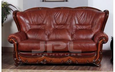 Кожаный диван А-100 трехместный
