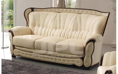 Кожаный диван А-101 трехместный