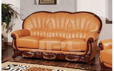 Кожаный диван А-103 трехместный