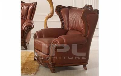Кожаное кресло А-109