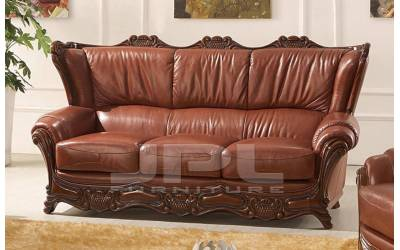 Кожаный диван А-109 трехместный