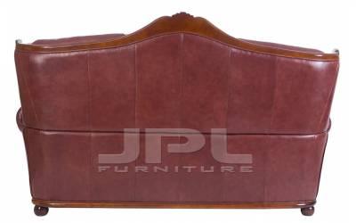 Кожаный диван Brio трехместный, цвет 88#