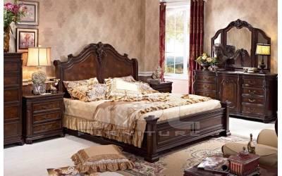 Спальный гарнитур 8180 из массива ясеня